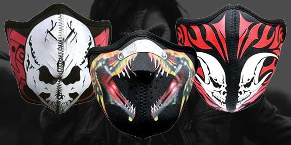 Biker Motorrad Masken