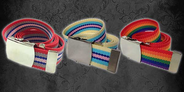 Canvas Belts for Kids