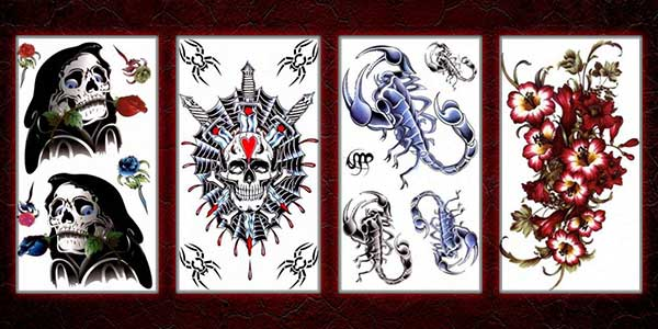 Shop for temporary tattoos & fake tattoos online