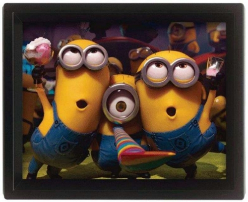Minions Despicable Me 2 Party 3D Bild