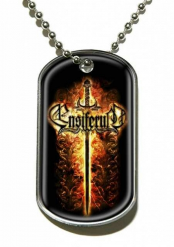 Ensiferum Sword Dog Tag Necklace