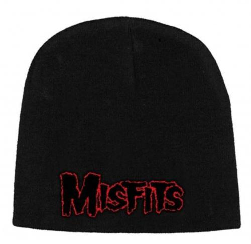 Beanie mit Misfits Red - Logo
