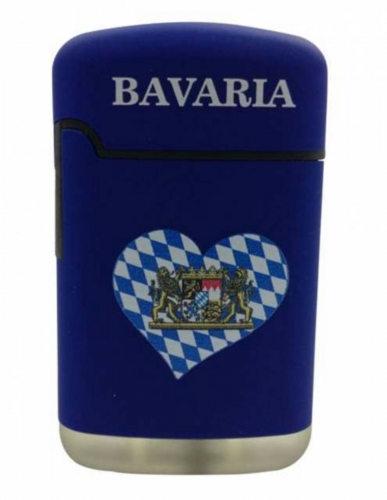 Bayern Herzwappen Sturmfeuerzeug