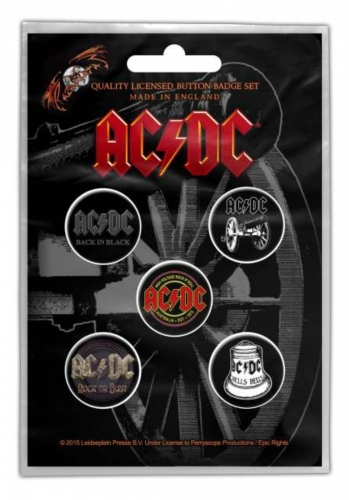 Button Pack - AC/DC For Those About To Rock