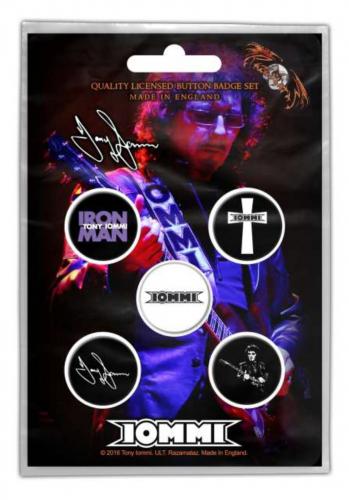 Button Set - Tony Iommi Iron Man