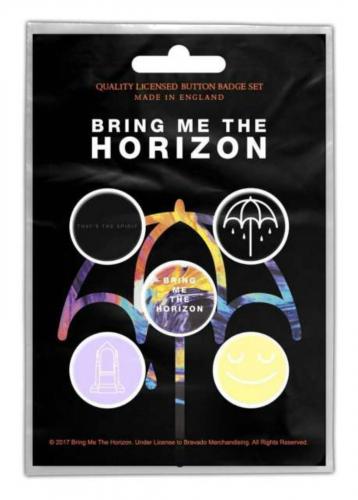 Button Set - Bring Me The Horizon That's The Spirit