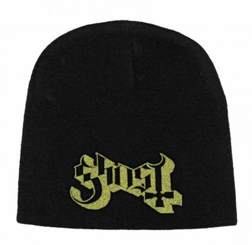 Beanie mit Ghost - Logo