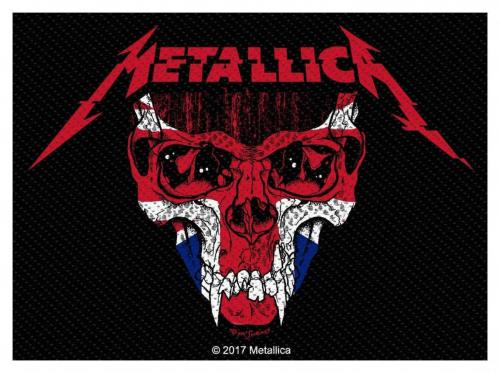 Metallica Aufnäher UK