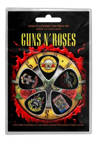 Plektrum Pack Guns 'N Roses Bullett Logo