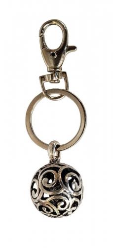 Schlüsselanhänger Kugel