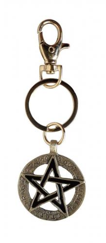 Pentagram Schlüsselanhänger