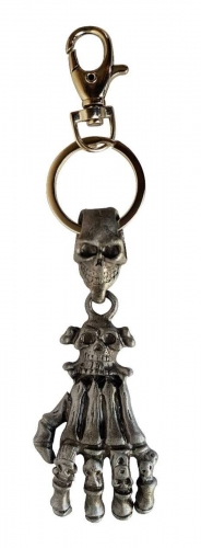 Schlüsselanhänger Skeletthand