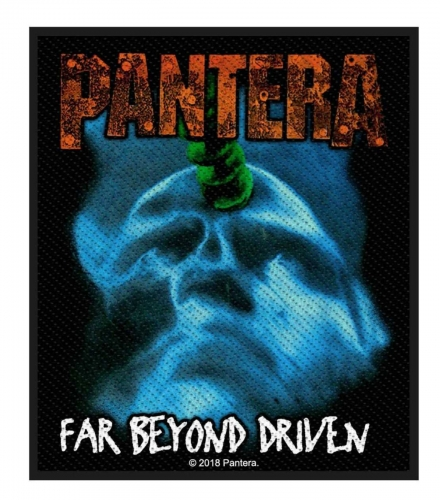 Pantera Aufnäher Far beyond driven