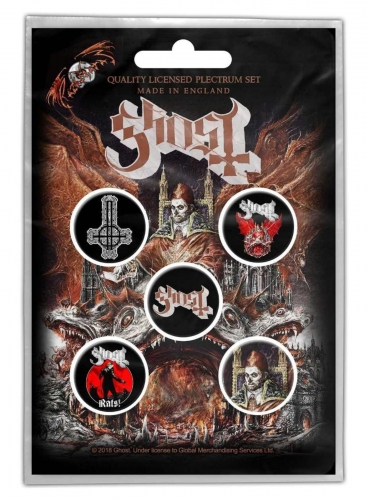 Ghost Button Set - Prequelle