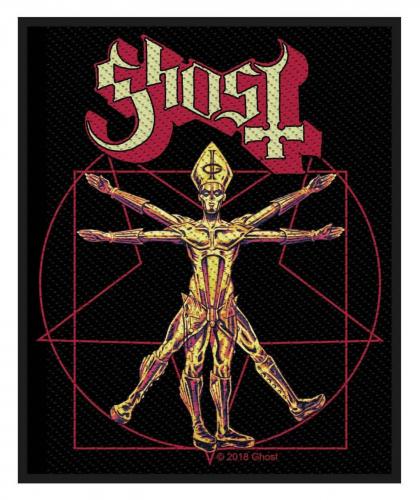 Ghost Aufnäher The Vitruvian Ghost