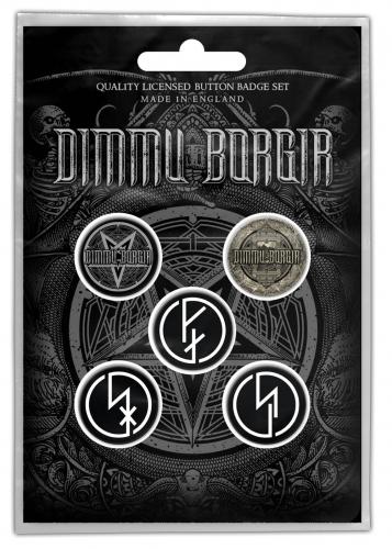 Dimmu Borgir Button Set Eonian