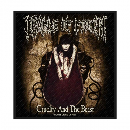 Cradle of Filth Patch Cruelty and the beast
