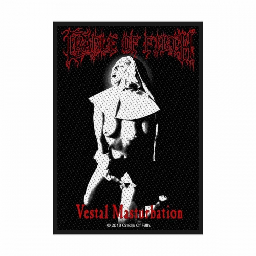 Cradle of Filth Aufnäher Vestal Masturbation