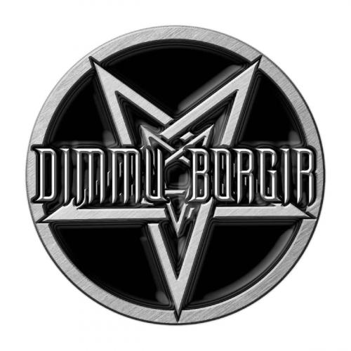 Anstecker Dimmu Borgir Pentagram