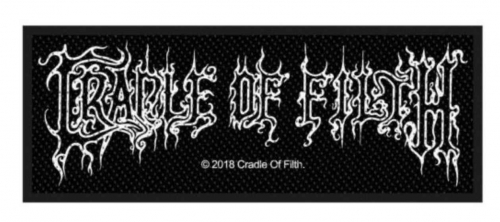 Cradle of Filth Aufnäher Logo