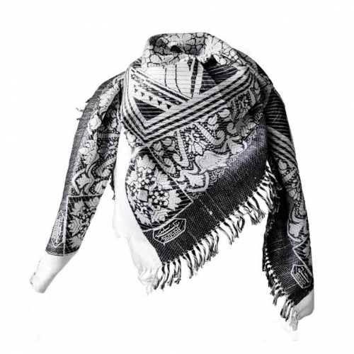 Kufiya Medina Tuch - Schwarz Weiß