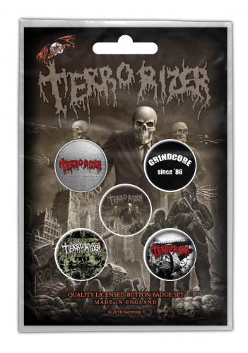 Terrorizer Button Set Caustic Attack
