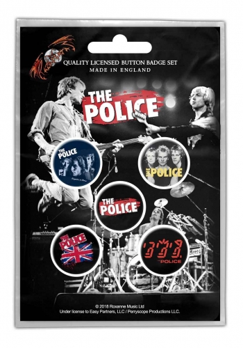 The Police Button Set - Various