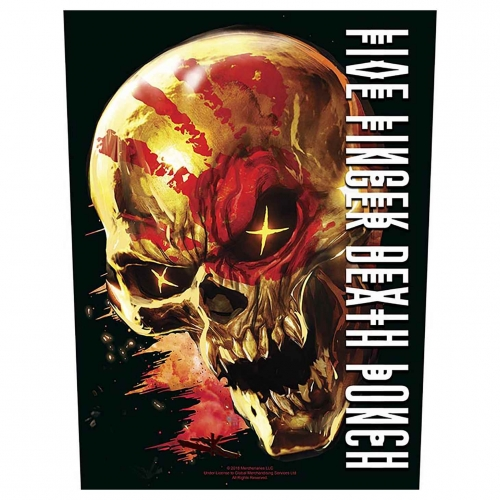 Five Finger Death Punch Backpatch And justice for none