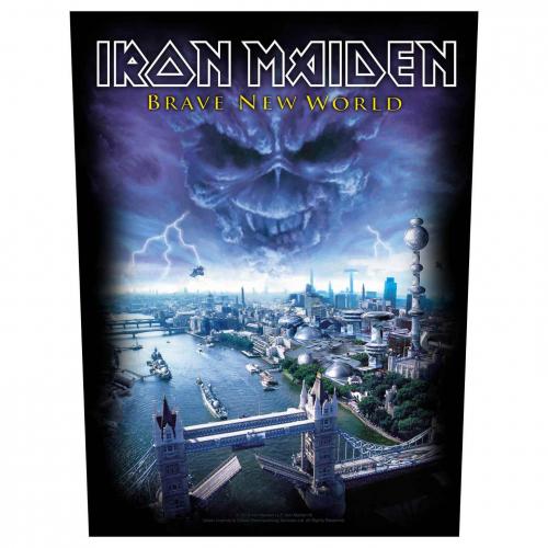 Iron Maiden Rückenaufnäher Brave new world