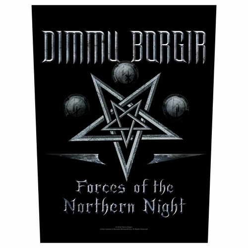 Dimmu Borgir Backpatch Forces Of The Northern Night