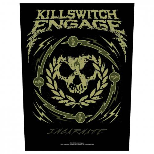 Killswitch Engage Rückenaufnäher Skull Wreath