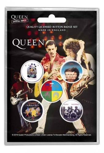 Queen Button Set - Later Albums