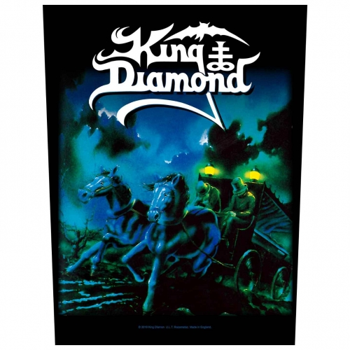 King Diamond Rückenaufnäher Abigail