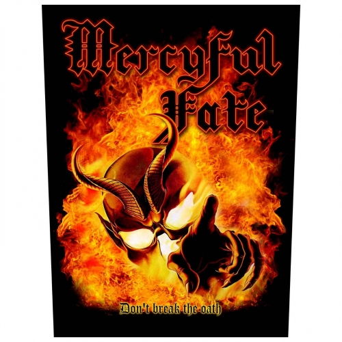 Mercyful Fate Rückenaufnäher Don't Break The Oath