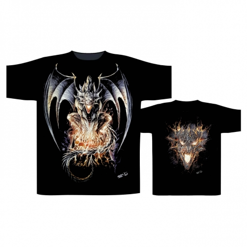T-Shirt Drache (Glow in the Dark)