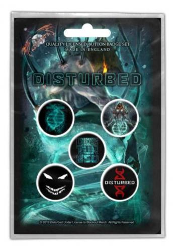 Button Set - Disturbed Evolution