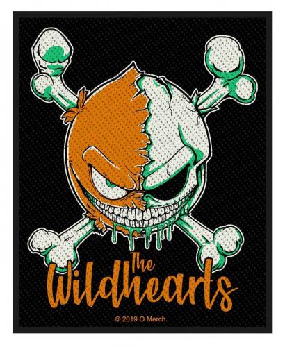 The Wildhearts Aufnäher Green Skull