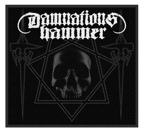 Damnation's Hammer Aufnäher Hammers and Skull