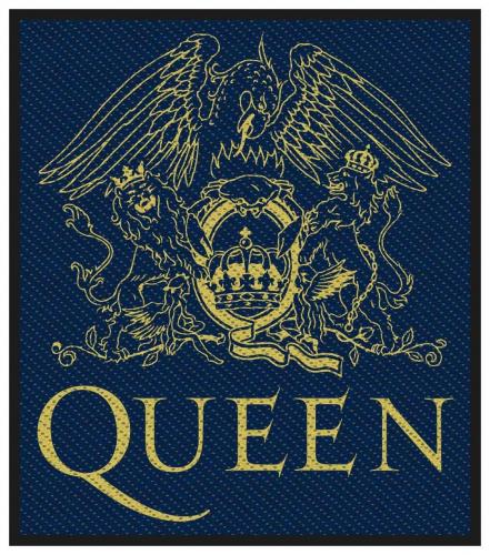 Queen Crest Aufnäher