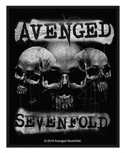 Avenged Sevenfold Aufnäher 3 Skulls