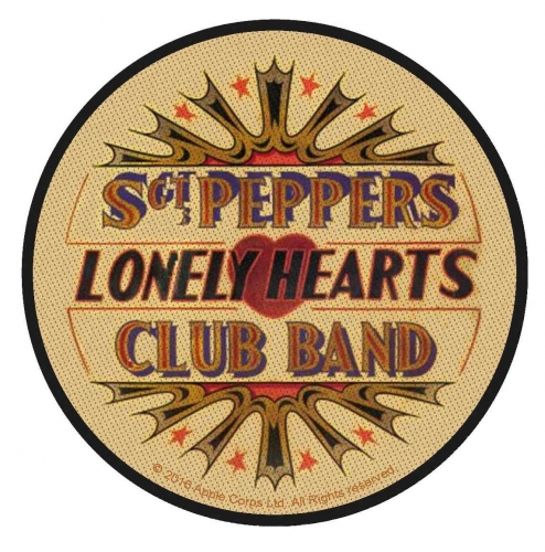 The Beatles Aufnäher Sgt Pepper Lonely Hearts Club Band
