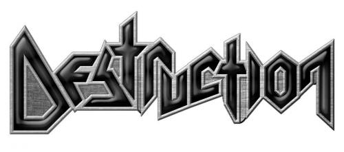 Destruction Logo Anstecker