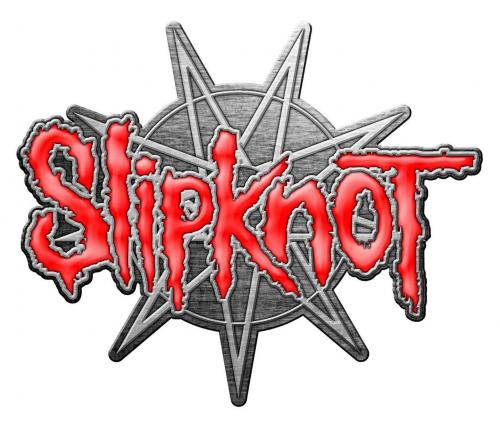 Slipknot - 9 pointed star Anstecker
