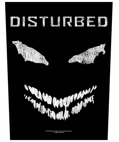Disturbed Face Backpatch