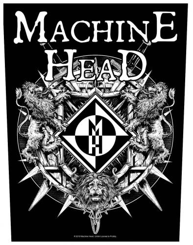 Machine Head Crest Rückenaufnäher