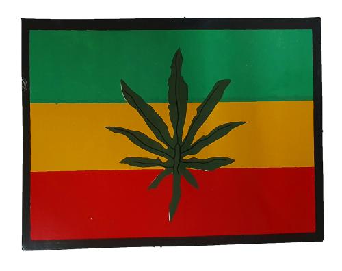 Aufkleber - Jamaika Fahne