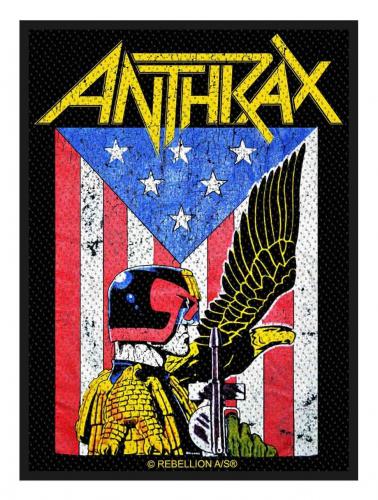 Anthrax Aufnäher Judge Dredd