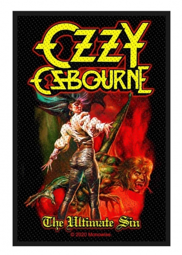 Ozzy Osbourne Aufnäher The Ultimate Sin