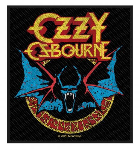 Ozzy Osbourne Aufnäher Bat