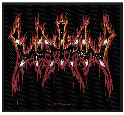 Watain Aufnäher Flaming Logo